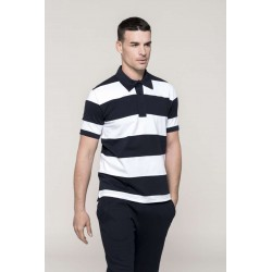 Pánska Polokošeľa RAY - SHORT-SLEEVED STRIPED - 1