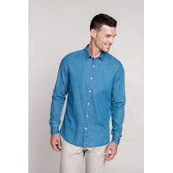Pánska rifľová košeľa - 2