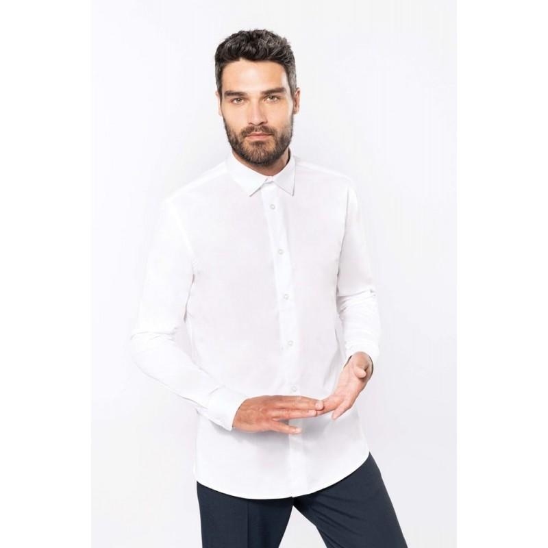 Pánska košeľa dlhý rukáv K513 - 1