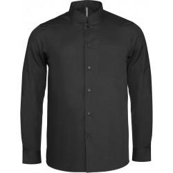 Pánska košeľa s mandarínskym golierom - 2