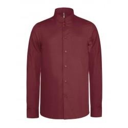 Pánska košeľa s mandarínskym golierom - 4