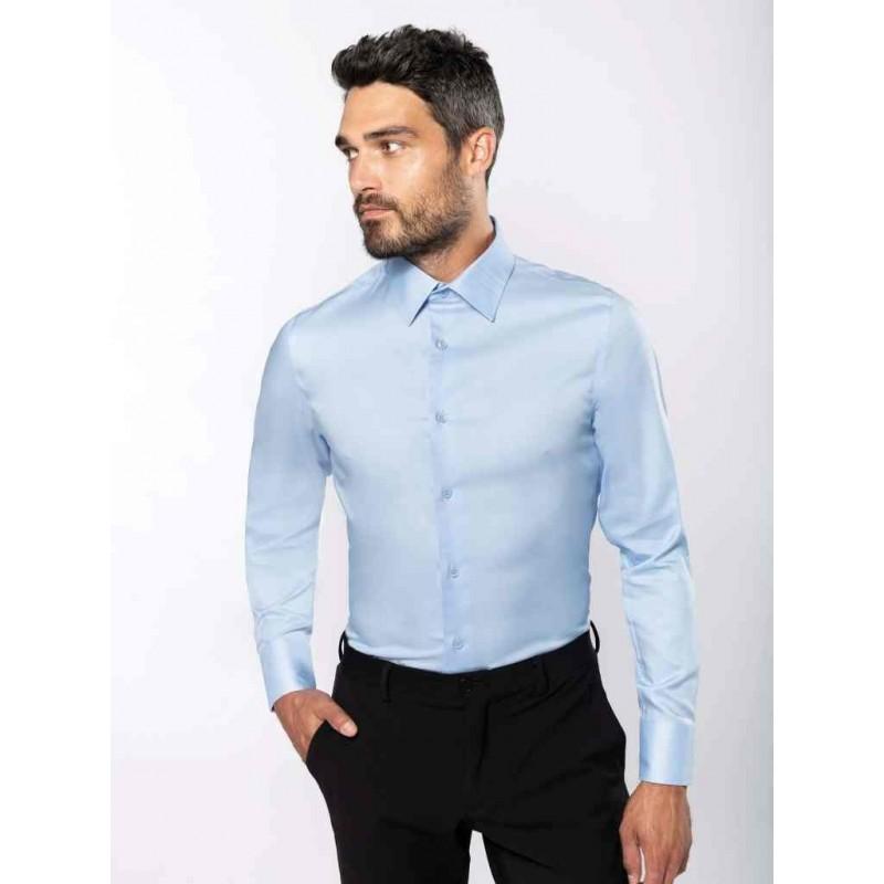 Pánska košeľa fit dlhý rukáv - 1