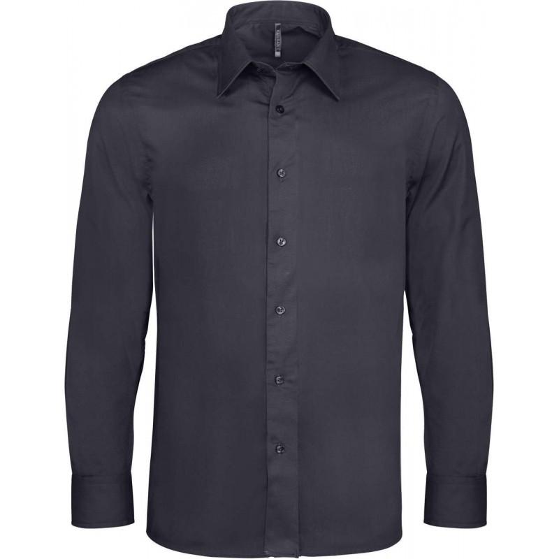 Strečová pánska košeľa dlhý rukáv - 7