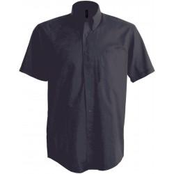 Pánska strečová košeľa krátky rukáv - 8
