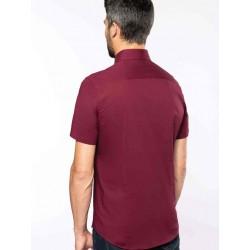 Pánska strečová košeľa krátky rukáv - 2