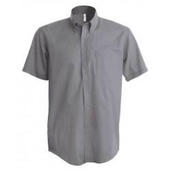 Pánska košeľa OXFORD krátky rukáv - 4