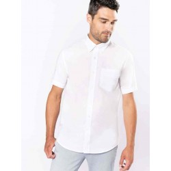 Pánska košeľa OXFORD krátky rukáv - 1