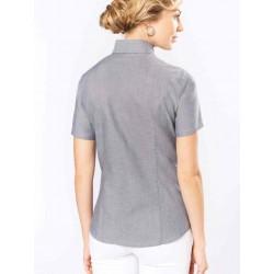 Dámska košeľa OXFORD krátky rukáv - 2