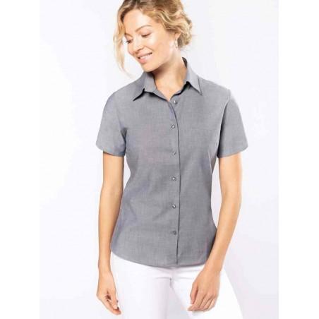 Dámska košeľa OXFORD krátky rukáv - 1