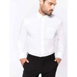 Pánska košeľa dlhý rukáv nežehlivá úprava - 1