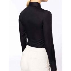 Dámska košeľa dlhý rukáv nežehlivá úprava - 2