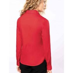 Dámska popelínová košeľa dlhý rukáv - 2