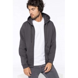 Mikina UNISEX FULL ZIP HOODED SWEATSHIRT - 2
