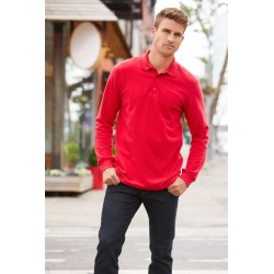 Pánska polokošeľa PREMIUM COTTON® LONG SLEEVE GI85900 - 1