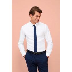 Pánska košeľa dlhý rukáv BRODY- HERRINGBONE SO02102 - 1