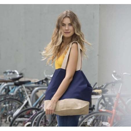 Veľká bavlnená cestovná taška KI0235 - 2