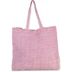 Pruhovaná nákupná taška KI0236