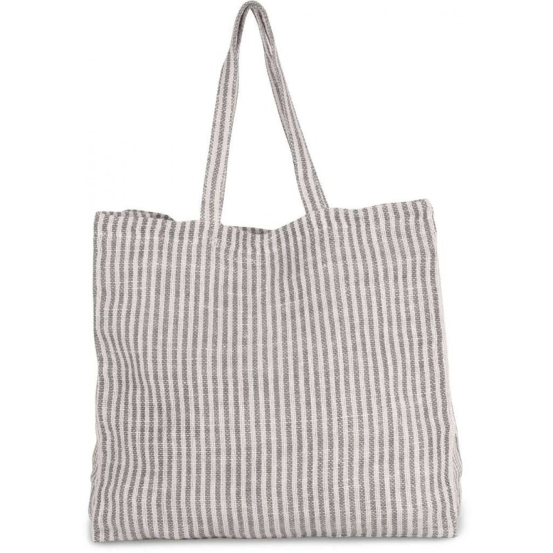 Pruhovaná nákupná taška KI0236 - 3