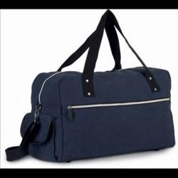 Cestovná taška z bavlneného plátna KI0636 - 1