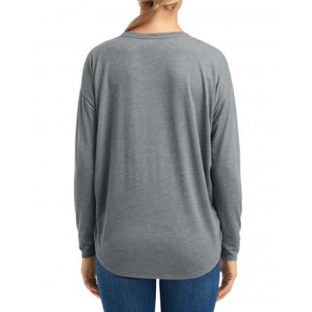tričko výstih V