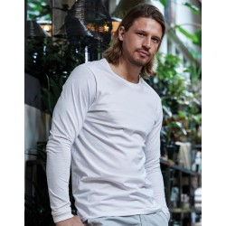 Moderné tričko s dlhými rukávmi Sof Tee TJ8007 - 1