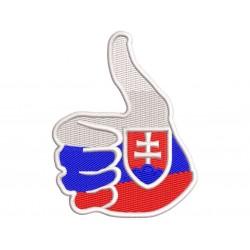 Nášivka Slovakia 4 - 1
