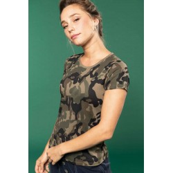 Dámske tričko CAMOUFLAGE K3031 - 2