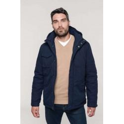 Pánska zimná bunda  kapucňou K627 - 2