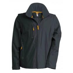 Pánska bunda s odnímateľnými rukávmi SCORE K639 - 3
