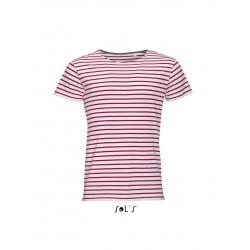 Pánske tričko MILES ROUND NECK STRIPED - 4
