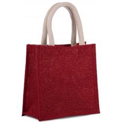 Malá nákupná jutová taška KI0272 - 1