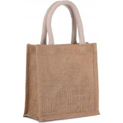 Malá nákupná jutová taška KI0272 - 4