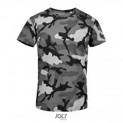 Pánske tričko CAMO MEN ROUND COLLAR - 4