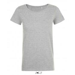 Dámske Tričko MIA WOMEN'S ROUND-NECK FITTED - 5
