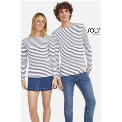 Tričko MARINE MEN LONG SLEEVE STRIPED