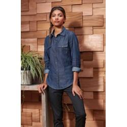 Dámska Jeans košeľa PR322 - 2
