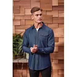 Pánska  Jeans košeľa PR222 - 2