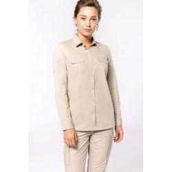 Safari Dámska košeľa dlhý rukáv K591 - 1