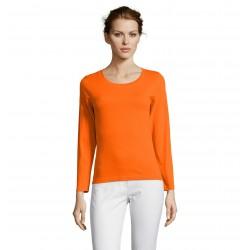 Dlhý rukáv dámske tričko MAJESTIC SO11425 - 11