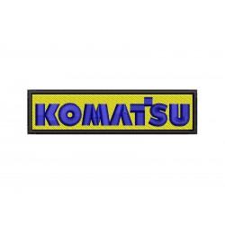 KOMATSU nášivka - 1