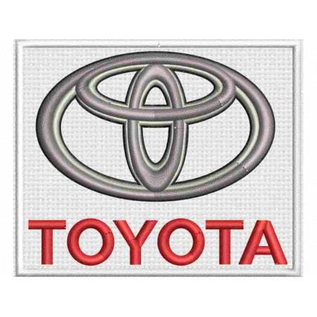 Nášivka Toyota - 1