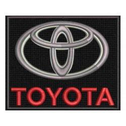 Nášivka Toyota - 2