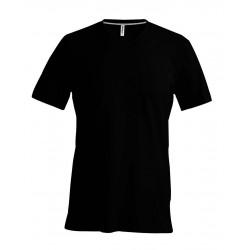 Pánske Tričko  SHORT SLEEVE V-NECK - 4